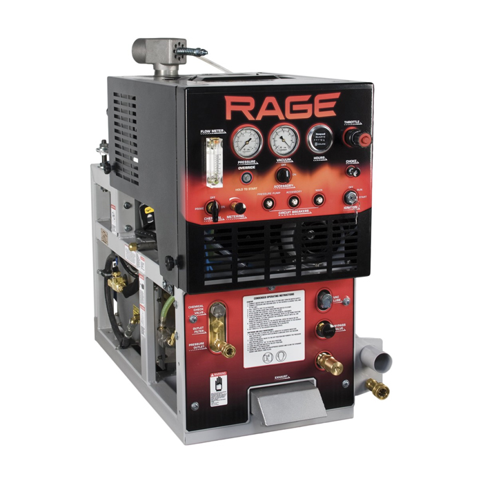 Rage Mount Tile and Carpet Cleaning Machine with Basic Kit