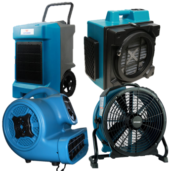 Airmovers, Dehumidifiers & Filters