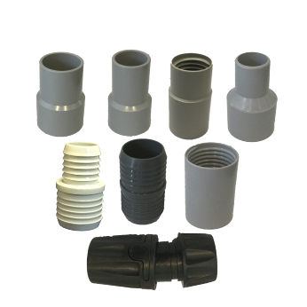 Vacuum Hose Cuffs and Joiners