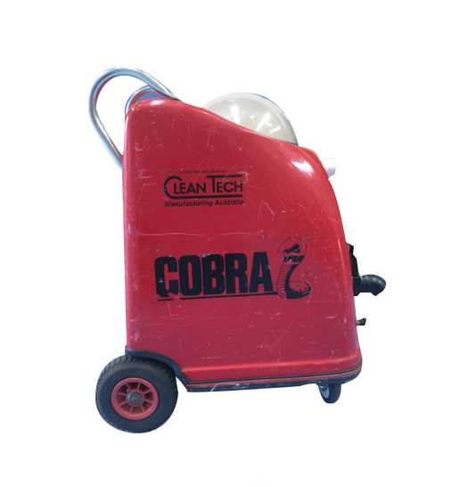 Cobra Portable - Good condition, complete with hoses and wand assembly